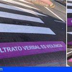 San Miguel | Pasos de peatones para concienciar contra la violencia machista