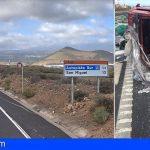 Dos accidentes de tráfico en Las Chafiras, un fallecido en uno de ellos