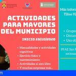 San Miguel | El PFAE de atención sociosanitara comienza un proyecto de actividades para mayores