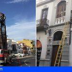 Bomberos de Tenerife intervino en Adeje y Granadilla en 3 incidentes leves por vientos