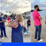 Arona activa a sus mayores con iniciativas de dinamización y ocio en las playas de Las Vistas y Las Galletas