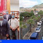 FEPECO apoya el soterramiento de la Av. Chayofita para aliviar el tráfico en Los Cristianos