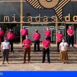 Los taxistas de Guía de Isora se visten de rosa para visibilizar la lucha contra el cáncer de mama