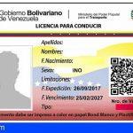 65 detenidos en Tenerife por usar permisos de conducir venezolanos falsos para obtener el carnet español