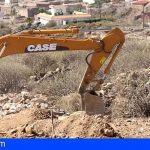Granadilla | Se inician las obras de la fase I del acceso norte al circuito del motor