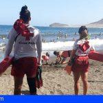 El servicio de socorrismo y salvamento de Granadilla realizó 214 actuaciones en las playas este verano
