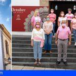 Adeje se suma a la conmemoración del Día Mundial contra el Cáncer de Mama