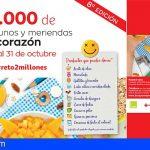 Canarias | Desayunos y meriendas para niñas y niños atendidos por Cruz Roja