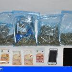 Dos italianos detenidos en La La Laguna con 584 gramos de marihuana