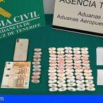Detienen a una pasajera en el aeropuerto Reina Sofía con 75 cápsulas de heroína y cocaína en su organismo