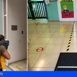 Las Escuelas Municipales Infantiles de Guía de Isora abrieron sus puertas ayer martes