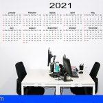 Canarias aprueba el calendario laboral en 2021 y abre el plazo para fijar las fiestas locales