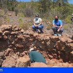 Arico | Se inicia una línea de investigación sobre los hornos de brea de Camas Verdes