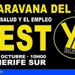 Sindicatos y empresarios apoyan el manifiesto de la II caravana para exigir los test en aeropuertos y puertos