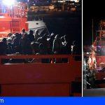 Trasladan a Los Cristianos 67 personas interceptadas al suroeste de Tenerife
