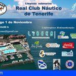 Este domingo la Asociación Promemar organiza una limpieza submarina en el Real Club Náutico de Tenerife