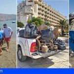 Arona | Alumnos de la ULL ponen en marcha National Plastographic, para reivindicar el respeto al litoral y la invasión de plásticos