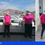Taxistas de San Miguel se visten de rosa; Apoyo a la lucha contra el cáncer de mama