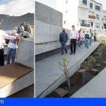 El Cabildo finaliza dos obras en espacios turísticos en Santiago del Teide por tres millones de euros