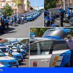 Adeje renueva parte de la flota de vehículos de la Policía Local