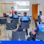 Policías Locales en prácticas de Adeje se actualizan con formación complementaria
