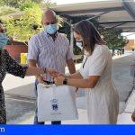 Granadilla distribuye 6.000 mascarillas en los centros educativos del municipio