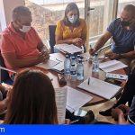 Granadilla y el sector empresarial coordinan acciones conjuntas de apoyo al tejido comercial local
