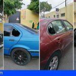 ElFraile Arona denucia en Facebook el robo y destrozo de varios vehículos