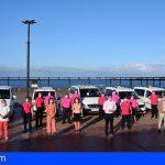 La Asociación Taxis de Santiago del Teide se solidariza con la lucha contra el cáncer de mama
