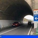 CC-PNC solicita la mejora de la seguridad vial del túnel del Puertito de Güímar