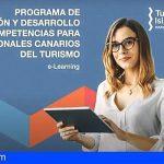 Formación online de Turismo de Canarias registra más de 1.100 alumnos en sus primeros meses de funcionamiento