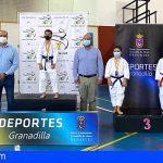 Alrededor de 150 deportistas se congregaron en Granadilla en el campeonato de Canarias de katas