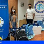 La solidaridad de la Fundación Pedro Rodríguez Ledesma llega a Adeje, de la mano de Lidl