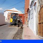 San Miguel lleva a cabo la renovación de la red de abastecimiento de agua en calle El Morro