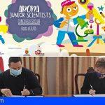 Arona y la ULL fomentan las vocaciones científicas con «Arona Junior Scientists»
