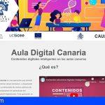 El Aula Digital Canaria, en fase de pilotaje, activa en 70 centros educativos de las islas