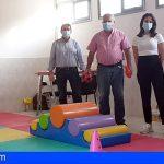 San Miguel | El aula de psicomotricidad se traslada al antiguo colegio infantil de Las Zocas