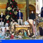 El Ayuntamiento de Santa Cruz acoge hasta el próximo 8 de enero su tradicional belén navideño
