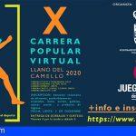 San Miguel abre el plazo para la X Carrera Popular Virtual Llano del Camello 2020