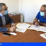 Arico y Fasnia acuerdan coordinar la gestión de las aguas residuales, recursos de seguridad y participación ciudadana