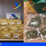 Tenerife | Desarticulada una organización que distribuía marihuana en paquetes postales