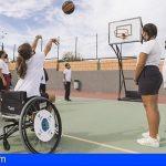El IES Las Galletas recibirá material deportivo adaptado gracias al proyecto Incluye-t Canarias
