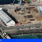 Tenerife Shipyards recibe la conformidad de Medio Ambiente para instalar el dique flotante en Santa Cruz