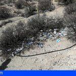 La Plataforma Ecoimplicados retira en Granadilla, 211 discos de plásticos de las bombonas de butano