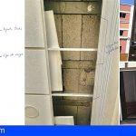 Tercera denuncia por daños estructurales en un edificio en Los Cristianos