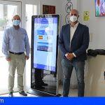 Granadilla facilita la obtención gratis de certificados de empadronamiento y de viaje a través de pantallas digitales