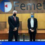 Cerca de 1.400 empresas metal y TIC de Tenerife se beneficiarán del convenio entre Femete y E-LOG