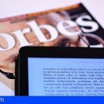 Canarias sale de la lista del ranking de riqueza de Forbes
