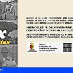 Arona proyecta imágenes de Canarias rodadas por Fox en 1925