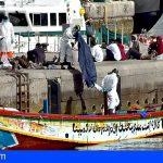Grande-Marlaska aborda en Canarias junto a la comisaria europea de Interior las llegadas de migrantes